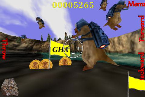 Screenshot Groundhog Assault 3D Lite