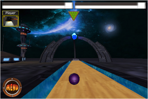 Screenshot Penguin's Bowling Lite